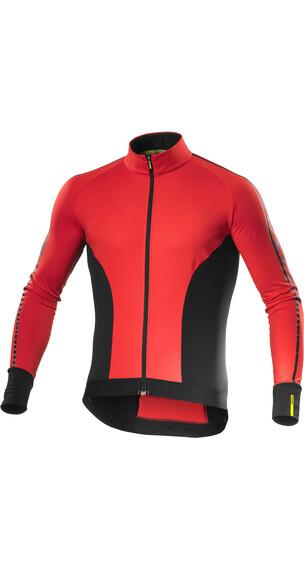 Mavic Cosmic Elite Thermo LS Jersey Men racing red/black
